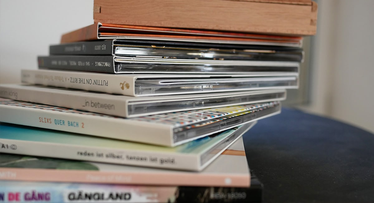 Plattenfirma to go - CD-Herstellung / Foto: Hey!blau GmbH