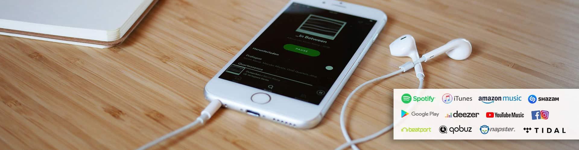 Plattenfirma to go - Digitalvertrieb deiner Musik / Foto: Hey!blau GmbH