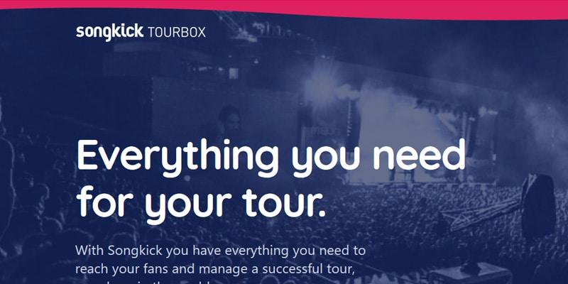 Songkick – Tour-Termine einfach verwalten und anzeigen (auf Spotify, Bandcamp, Homepage, Facebook etc.)